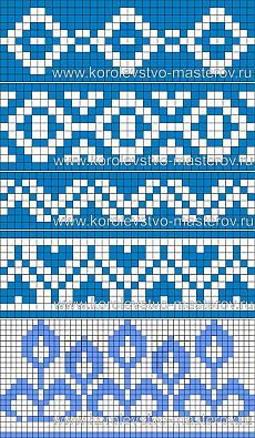 Схема для вязания жаккардового узора, схемы для вязания жаккардовых узоров…