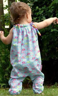 Sommerhose oder Jumper für Babys - Schnittmuster und Nähanleitung via Makerist.de