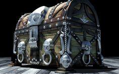 Pirate chest by pavolsvk.deviantart.com on @deviantART