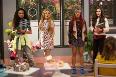 Mika Abdalla, Ysa Penarejo, Victoria Vida, and Genneya Walton in Project Mc² Project Mc2, Top Movies, Movies And Tv Shows, Mika Abdalla, Teenager Outfits, Girl Outfits, Project Mc Square, Mad Scientist Party, Ever After Dolls