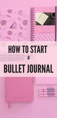 Learn how to start a bullet journal today with these easy steps and useful bullet journal supplies! Use this organization system to stay productive. and inspired! #bulletjournal #bulletjournalsupplies #howtostartabulletjournal #plannerideas #planner #productivitytips