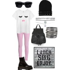 Cute but edgy @the.polyvore.addict on ig