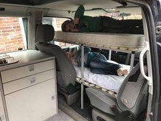 T4 camper cabin bunk bed