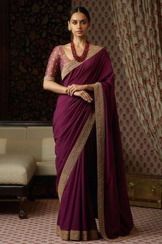 Classic Indian Sari Click Visit link to see Sabyasachi Sarees, Georgette Sarees, Indian Sarees, Silk Sarees, Georgette Saree Party Wear, Kalamkari Saree, Indian Dresses, Indian Outfits, Dresses Dresses
