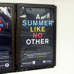 A Summer Like No Other tube poster