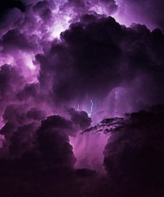 "chasingrainbowsforever: "" Purple Sky """