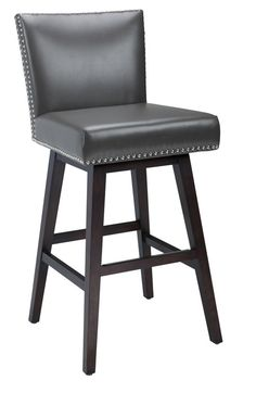 Pepperton Tufted Swivel Counter Stool Ps Heather O