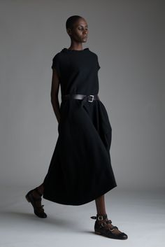 The shoes are vivienne westwood in a huge size like my feet. I will get these one day. Vintage Y's Yohji Yamamoto Dress