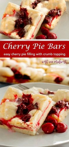 Cherry Pie Bars (Che