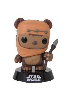 Funko Star Wars Pop! Wicket Vinyl Bobble-Head