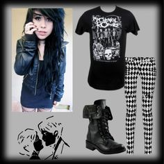 """MCR"" by carissa-chaos ❤ liked on Polyvore"