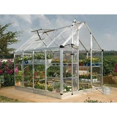 With this Solarium Greenhouse Nursery. and Grow greenhouse. polycarbonate panels let in abundant. Greenhouse Plans, Greenhouse Gardening, Hydroponic Gardening, Hydroponics, Indoor Greenhouse, Organic Gardening, Greenhouse Wedding, Cheap Greenhouse, Backyard Aquaponics