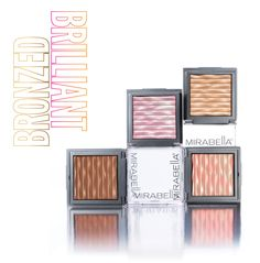 bronzed and brilliant by mirabella #$38 #mirabellabeauty #bronzer
