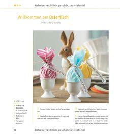 Frühlingsinspirationen: Frische Dekoideen für Frühling und Ostern: www.topp-kreativ.de