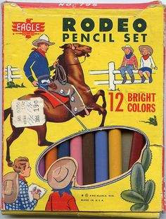 Rodeo Colored Pencil Set