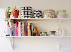 Kitchen shelf retro.