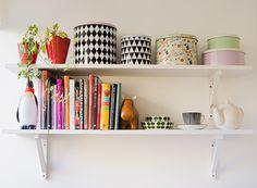 Kitchen shelf retro.