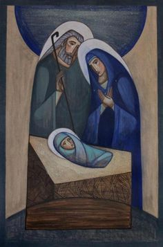❣Julianne McPeters❣ no pin limits Mother Of Christ, Blessed Mother, Religious Icons, Religious Art, Images Of Mary, Christian Artwork, Holy Mary, Christmas Drawing, Catholic Art