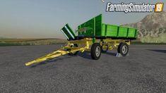 HW 60 Old Trailer for Farming Simulator 19 African Countries, Farming