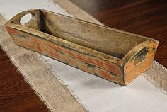 "use the Wood Tray Multi Color as a centerpiece on a long banquet table during a seasonal dinner party or wedding reception. This antique-looking tray is 6"" wide, 17.5"" long, and 3.75"" high.  Out Of Stock Price $23.99Retail $48.99 (Save 51%)"