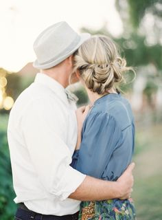 Love the hair, love the love | Hair by Jess Wilcox | Dress from Anthropologie | Photo by Jen Huang (jenhuangblog.com)