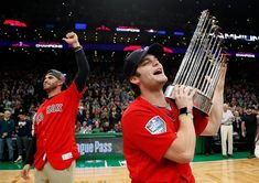 JD Martinez and Andrew Benintendi Boston Sports, Boston Red Sox, Andrew Benintendi, Red Sox Nation, Red Sox Baseball, Different Sports, Figure Skating, Biceps, Future Husband
