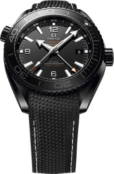La Cote des Montres : La collection de montres Omega Seamster Ocean « Deep Black…