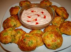 Spicy Vegetable Cheese Balls