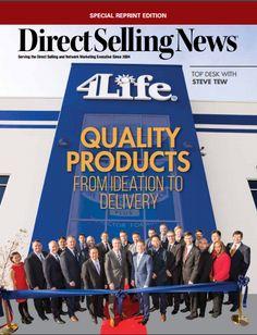 """La revista Direct Selling News actualmente presentó un artículo del Presidente y Director General Ejecutivo Steve Tew en la edición de enero. El artículo tiene como nombre, """"Desde la idea hasta la entrega"""", enfocado en las responsabilidades que las compañías tienen de producir productos de calidad superior."""