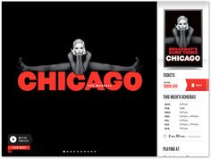Broadway.com iPad Application Show Detail Screen