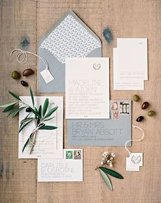Elegant Ranch and Vineyard Wedding Invitation Suite by Lupa & Pepi, Photograph by Jodi Miller Grey Wedding Invitations, Wedding Invitation Inspiration, Wedding Stationary, Wedding Inspiration, Save The Date Wedding, Carlisle, Save The Date Karten, Invitation Paper, Invitation Fonts
