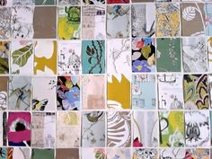 Hmm Where Have I Seen This Before Wall Art From Anthro Wallpaper Samples