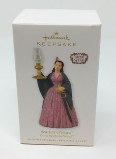 2010 Hallmark Keepsake Ornament called Scarlett O'Hara - Gone With The Wind! Still in Original Box. Box shows age wear (creases/dings/scratches). . . . Ornament looks nice inside box however. Still in it's original packing inside box. See pics for the EXACT item. Please check out my other great ornaments! If you have any questions please do not hesitate to contact us. Scarlett O'hara, Hallmark Keepsake Ornaments, Hallmark Christmas, Gone With The Wind, How To Look Better, Packing, Age, Check, Products
