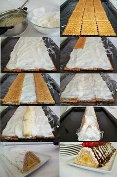 Pratik Piramit Pasta Yapımı.. Kendin Yap, Mutlu Ol ^.~ www.sosyetikcadde.com ♡