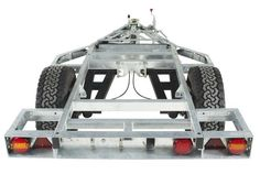 Chaser Adventure Trailer Chassis Rear View: