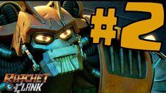 Ratchet & Clank Gameplay ITA Walkthrough #2 - Scappa Clank - PS4 Xbox On...