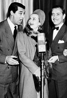 Cary Grant, Carole Lombard and Ronald Coleman. I love young, silly Cary. He was much more fun and less serious in the early years, at least publicly.
