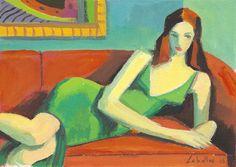 Guillermo Martí Ceballos.  Chica del vestido verde (2008)