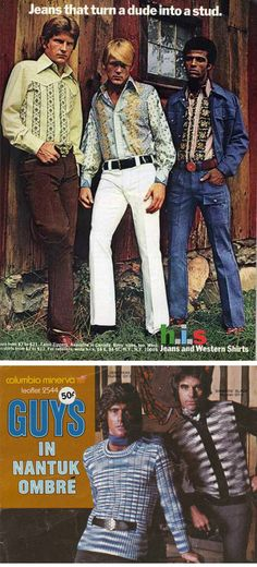 Wired 70s  :: men's clothing advertisements