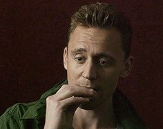 Tom Hiddleston eating a cookie. That is all.