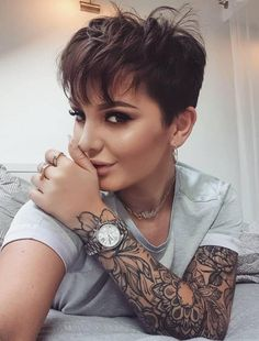 42 Trendy Short Pixie Haircut For Stylish Woman - Page 16 of 42 - Fashionsum Blog