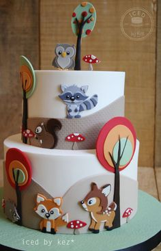 Woodland Animals - Sugar Myths & Fantasies Collaboration