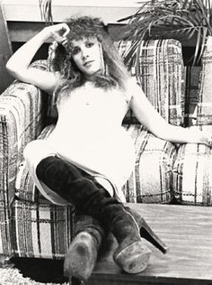 Stevie. Always,always has the best boots. Ever!
