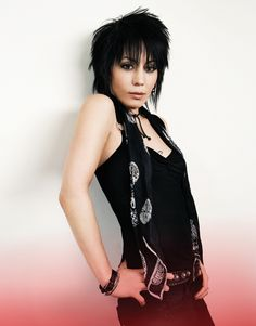 Joan Jett played at the State Fair on the hottest day of the summer one year. She'd shaved her head and I was so jealous!