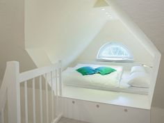 Franz.Bett im Spitzboden