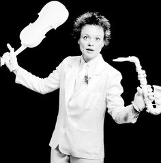 Laurie Anderson, 1983 by Deborah Feingold