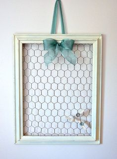 Transform old frames....... http://thisnthatusedfurniture.com/no-glass-no-problem/