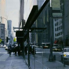 Ben Aronson - Reflected City, 2011 12x12