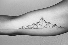 Everything in life is one continuous line, the artist says