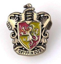 Harry Potter Gryffindor Logo Brooch. Only at www.pandadeals.co.uk